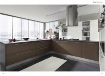 SLIM high gloss modern kitchens